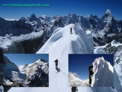 Three High Peak,Gokyo-Ri 5483m,Kala pattar 5545m,Chukung-Ri 5555- Peak climbing in Nepal